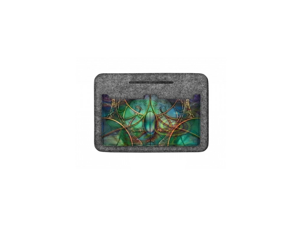 Organizér do kabelky - Smaragd