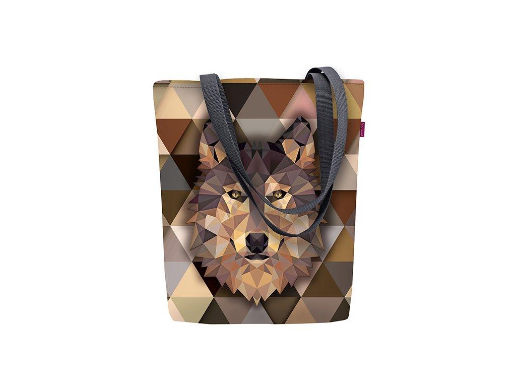 Designová taška na rameno Sunny - Wolf