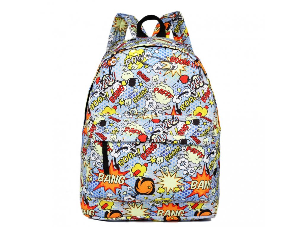Štýlový školský batoh Pow