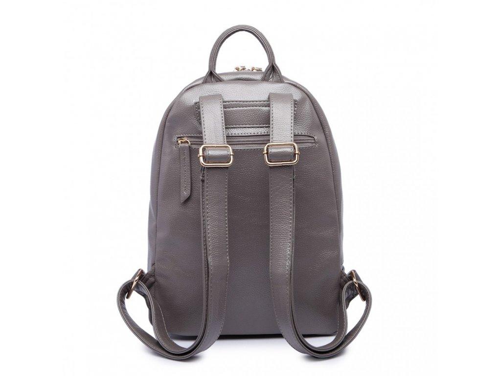 1190d5e758 Štýlový sivý batoh Miss Lulu · Štýlový sivý batoh Miss Lulu ...