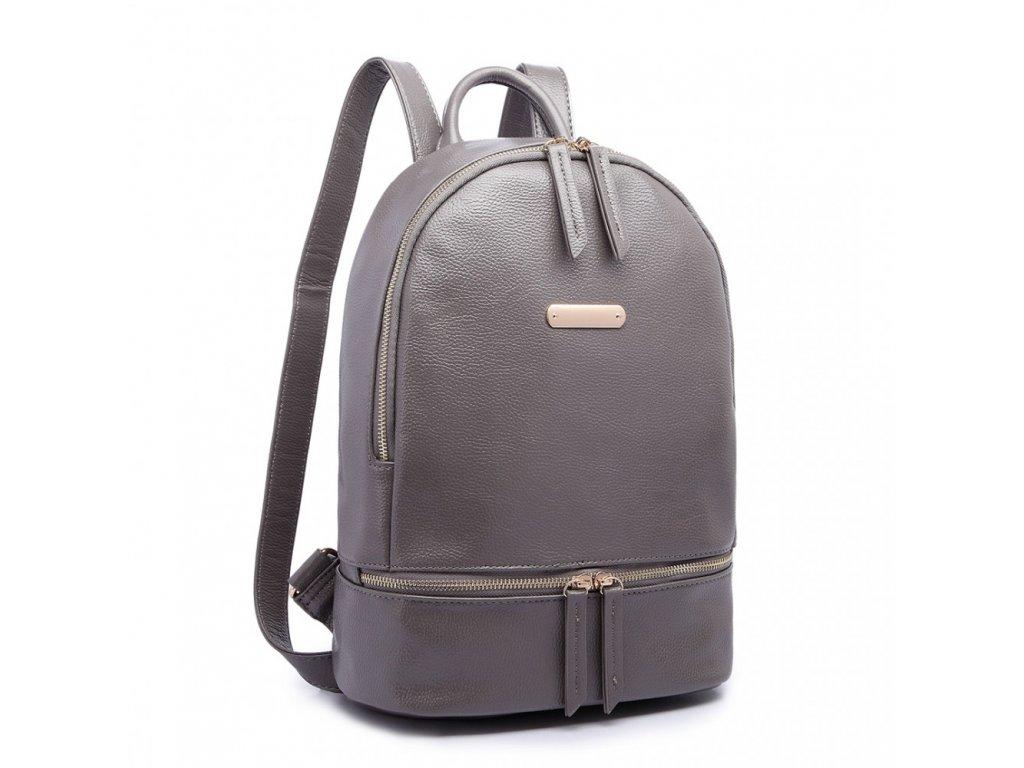 Štýlový sivý batoh Miss Lulu