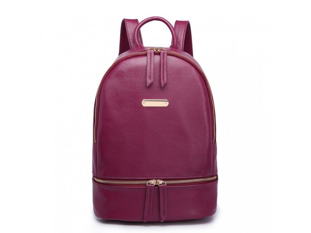 Štýlový fialový batoh Miss Lulu