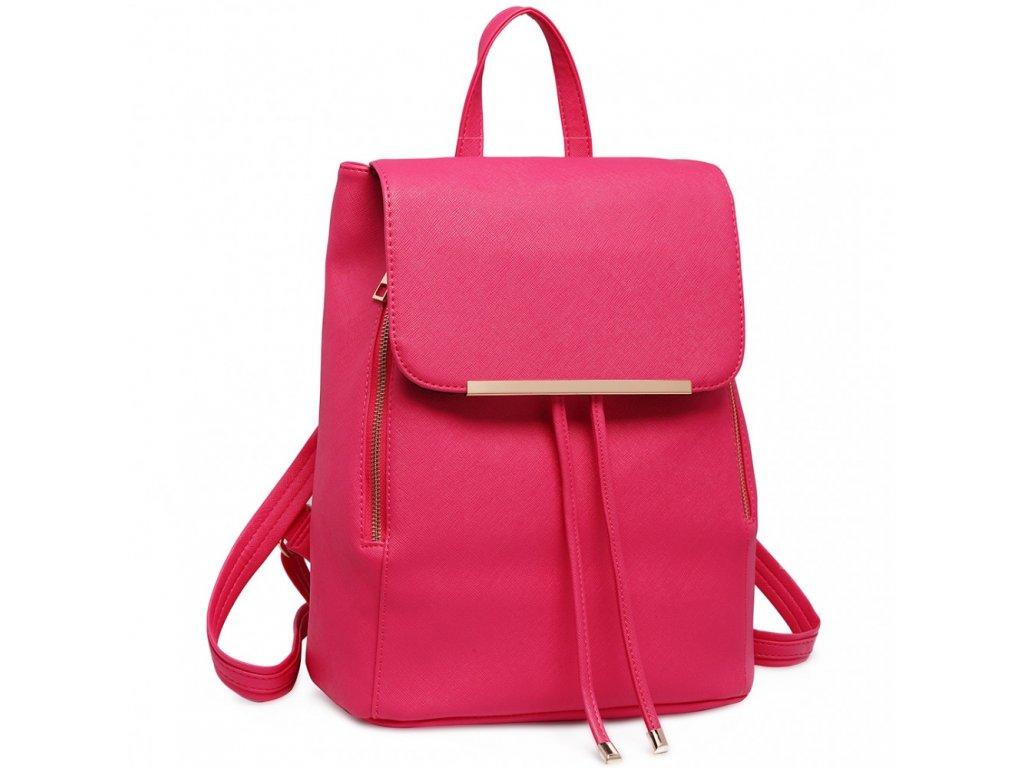 5993a7bacd04b Elegantný dámsky ruksak - Ružový - Batoháreň.sk