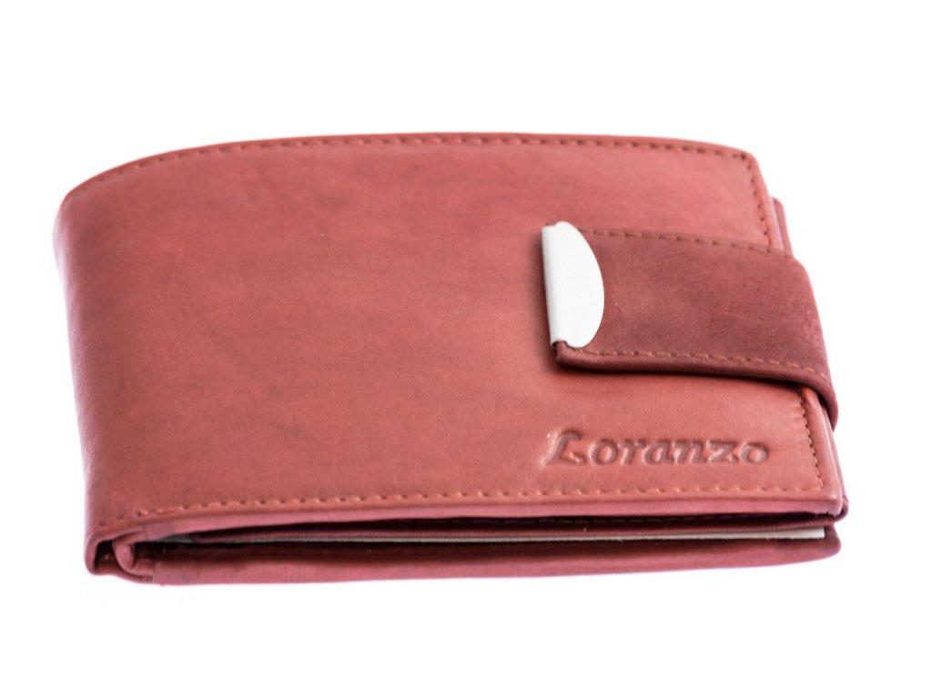 Pánska peňaženka s prackou - bordová