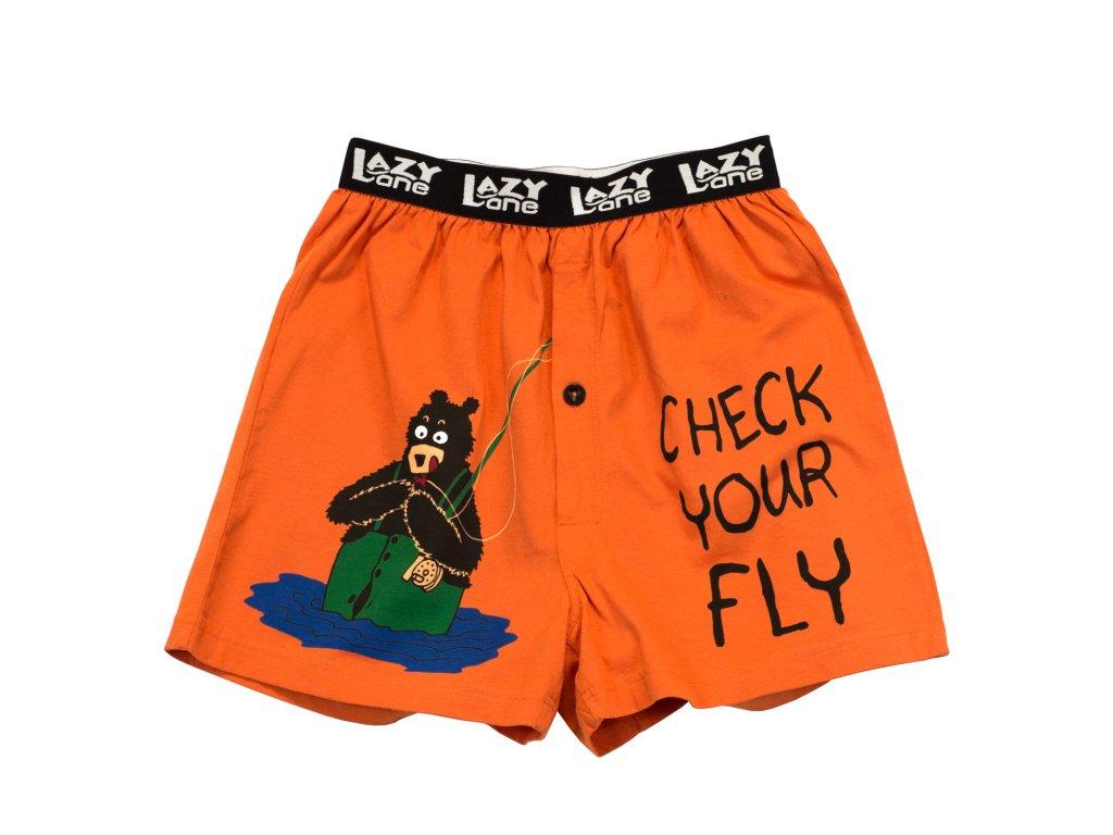 Pánske trenky - Check Your Fly