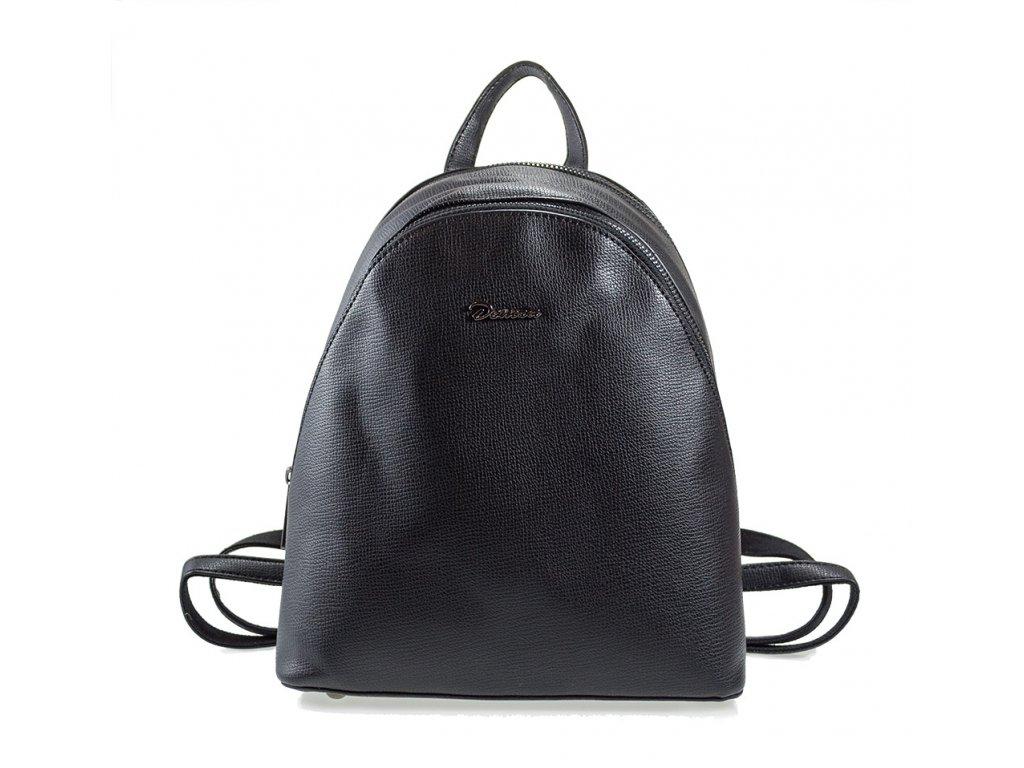 c07a30a5b4 Čierny elegantný dámsky ruksak - Batoháreň.sk