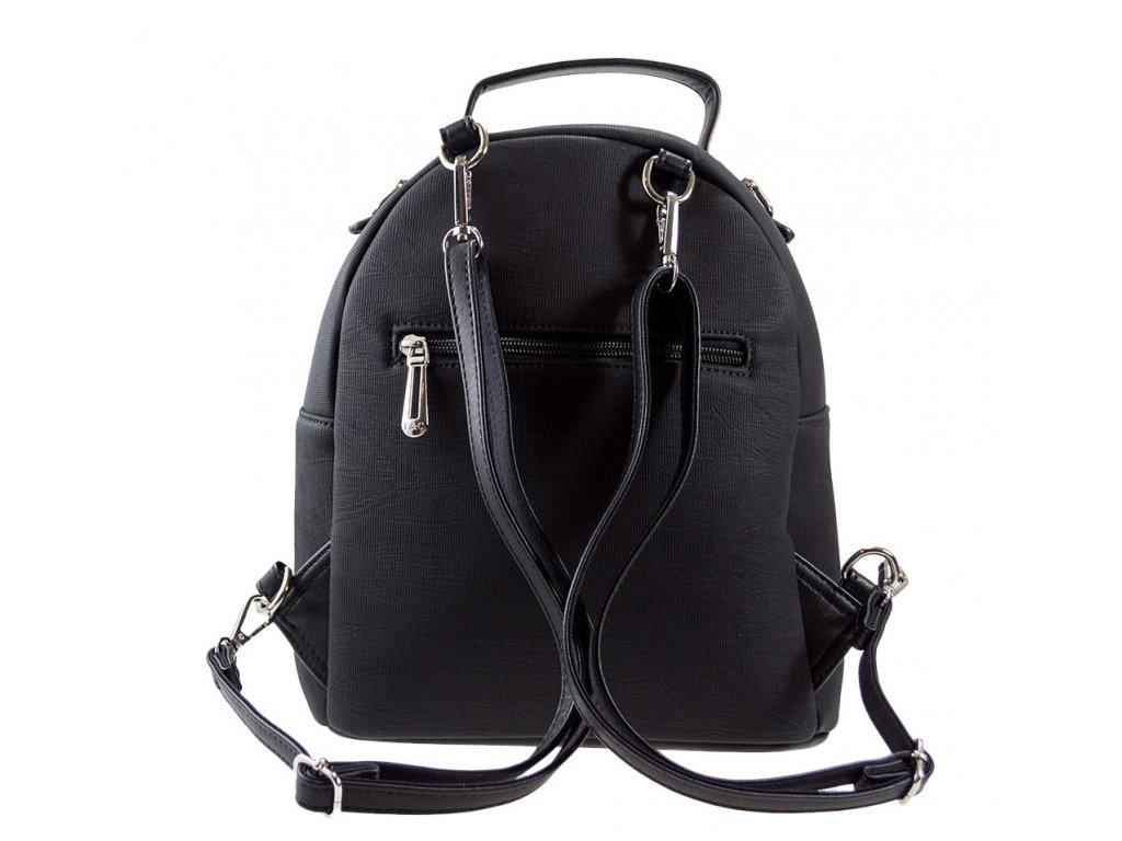 d25de970d5 Luxusný batoh a taška v jednom Flora   Co - čierny - Batoháreň.sk