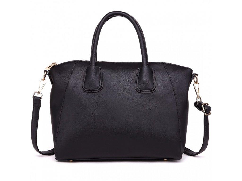 Klasická dámska taška cez rameno stredná - čierna - Batoháreň.sk 8c2a4dd57bd