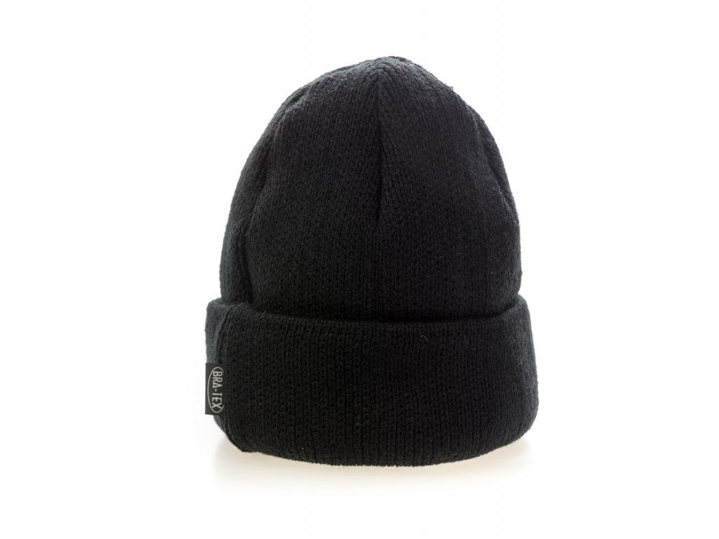 Pánska zimná čiapka - čierna - BRA-TEX
