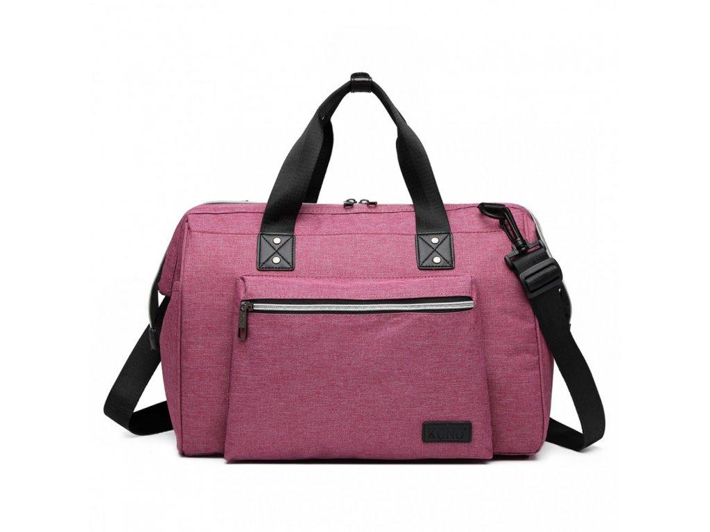 Materská cestovná taška - ružová