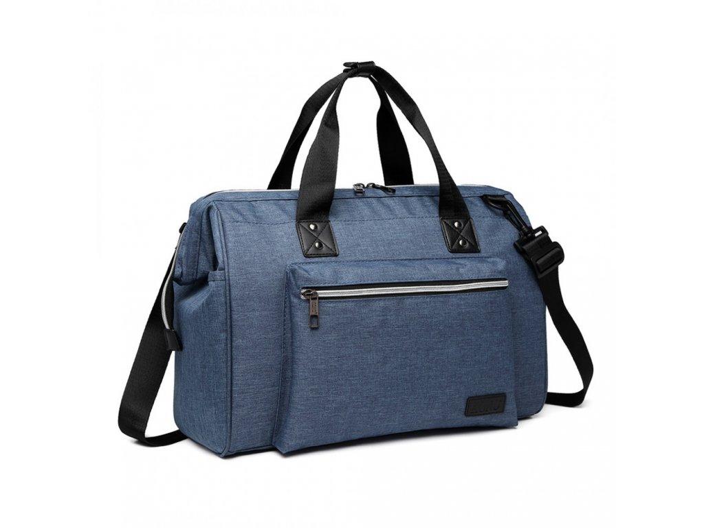 220256b441 Materská cestovná taška - modrá - Batoháreň.sk