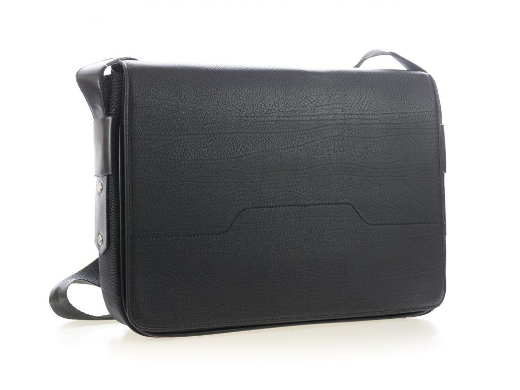78e6e4ec0 Elegantná pánska taška - čierna - veľká - Batoháreň.sk