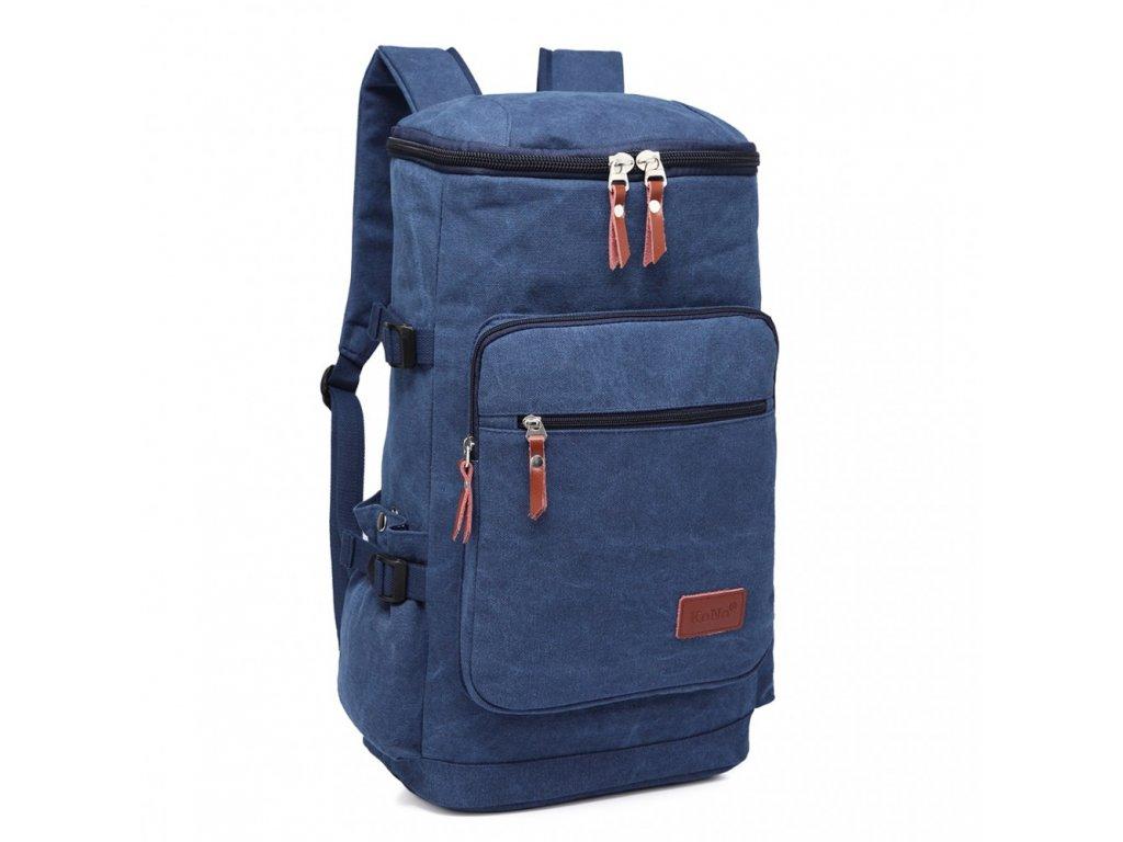 Pánsky outdoorový vysoký batoh - modrý · Pánsky outdoorový vysoký batoh -  modrý ... 37e37584c4