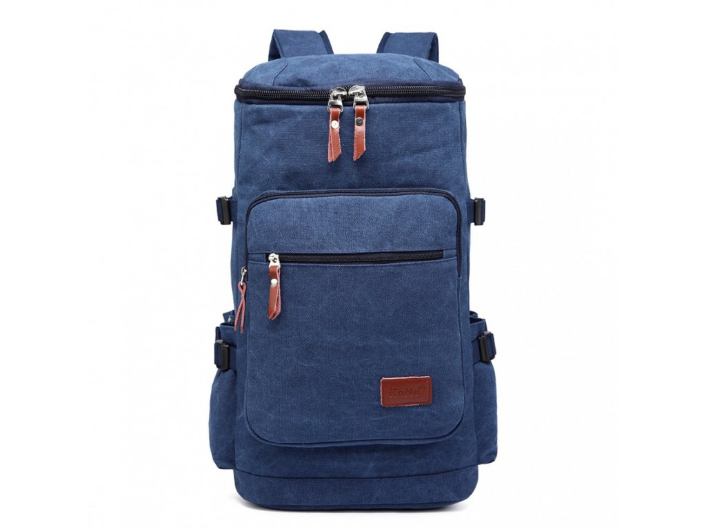Pánsky outdoorový vysoký batoh - modrý - Batoháreň.sk 272e78d4d8