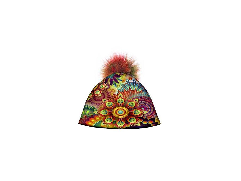 04f82ef1e Dizajnová dámska čiapka s veľkým brmbolcom - Bambulky - Batoháreň.sk