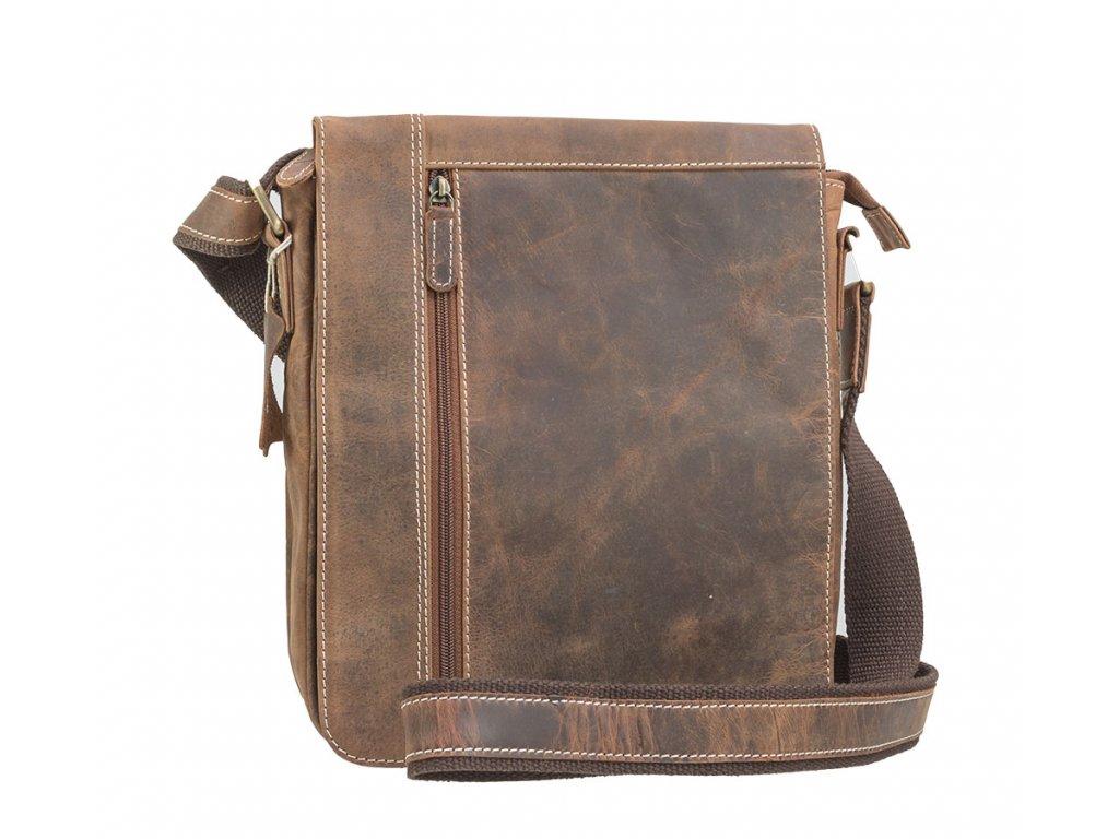 Kožená pánska taška - veľká