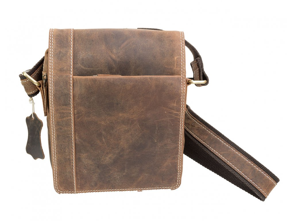Kožená pánska taška - malá