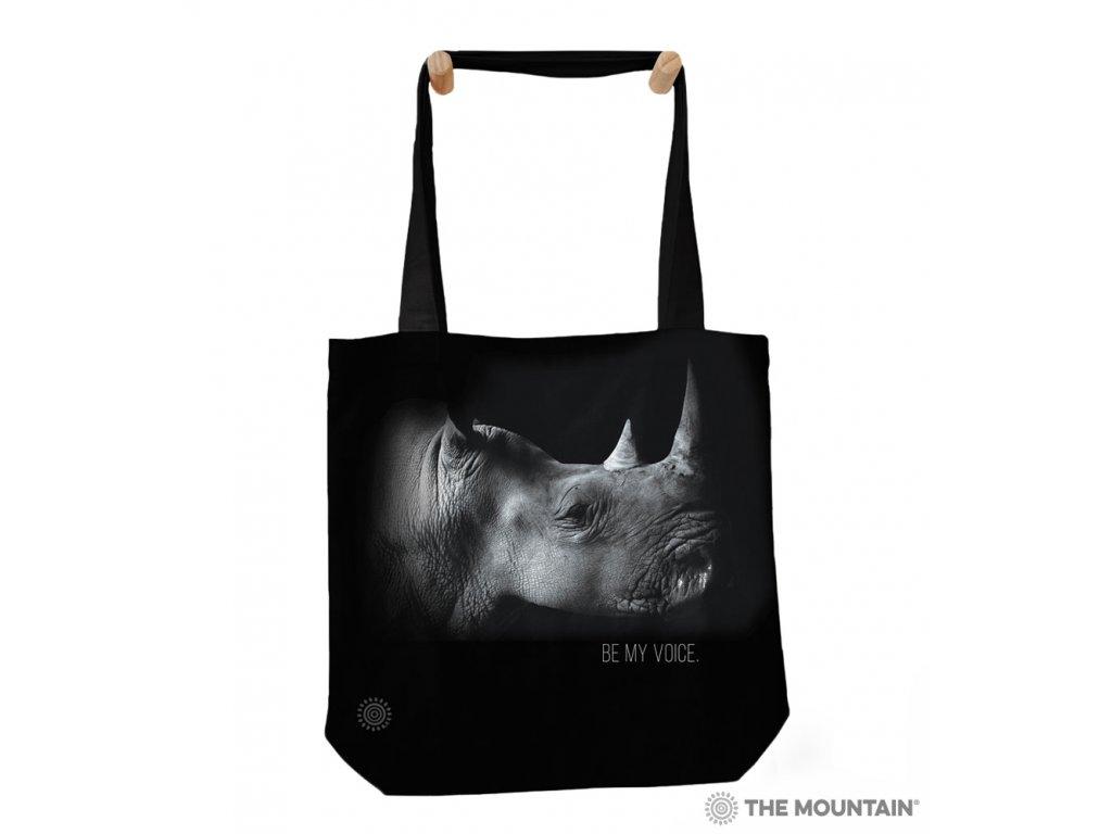 Taška na rameno Zachráňte druh - Nosorožec