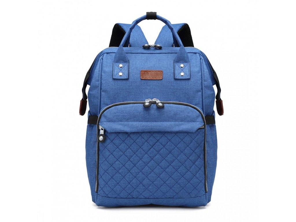 Prebalovací batoh na kočík - modrý - Batoháreň.sk cab09ebc04