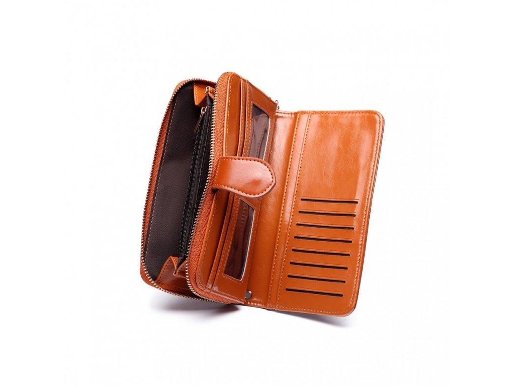Dámska elegantná peňaženka - hnedá Brown - Batoháreň.sk 1f577689dc7