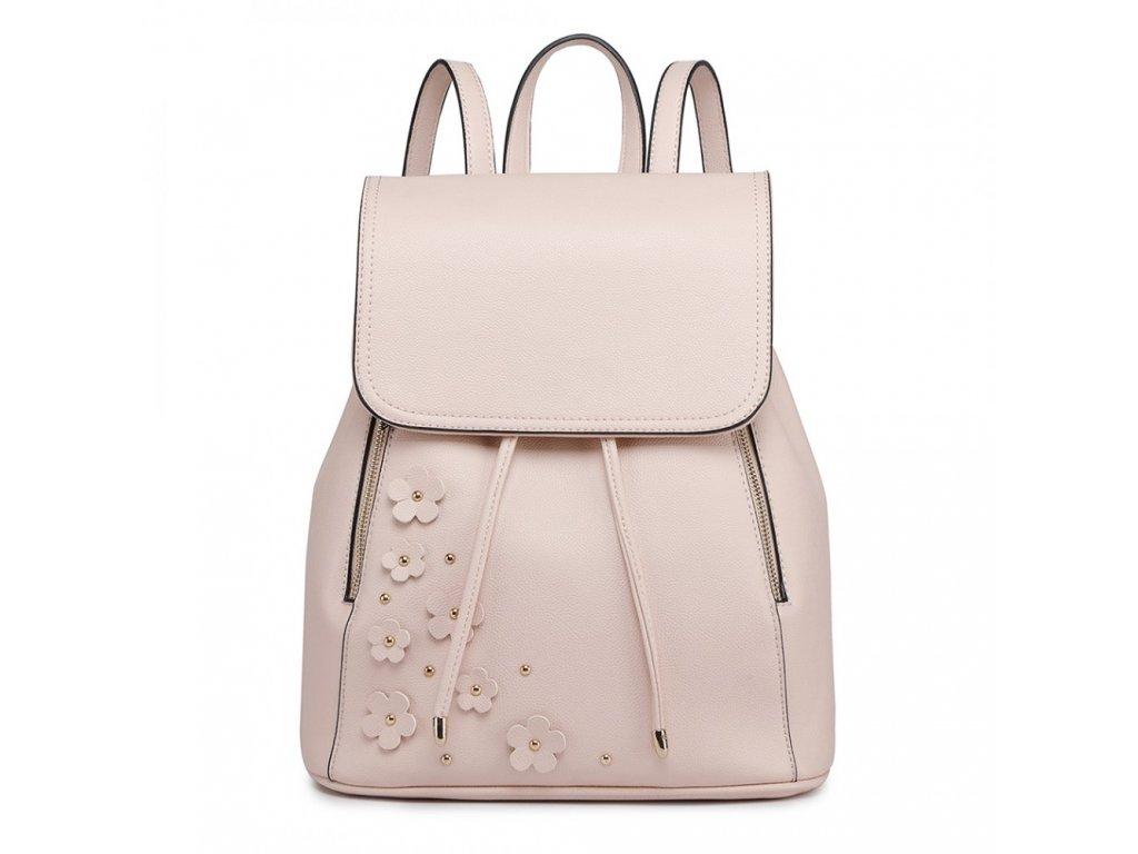 Elegantný batoh - Romantic - béžový