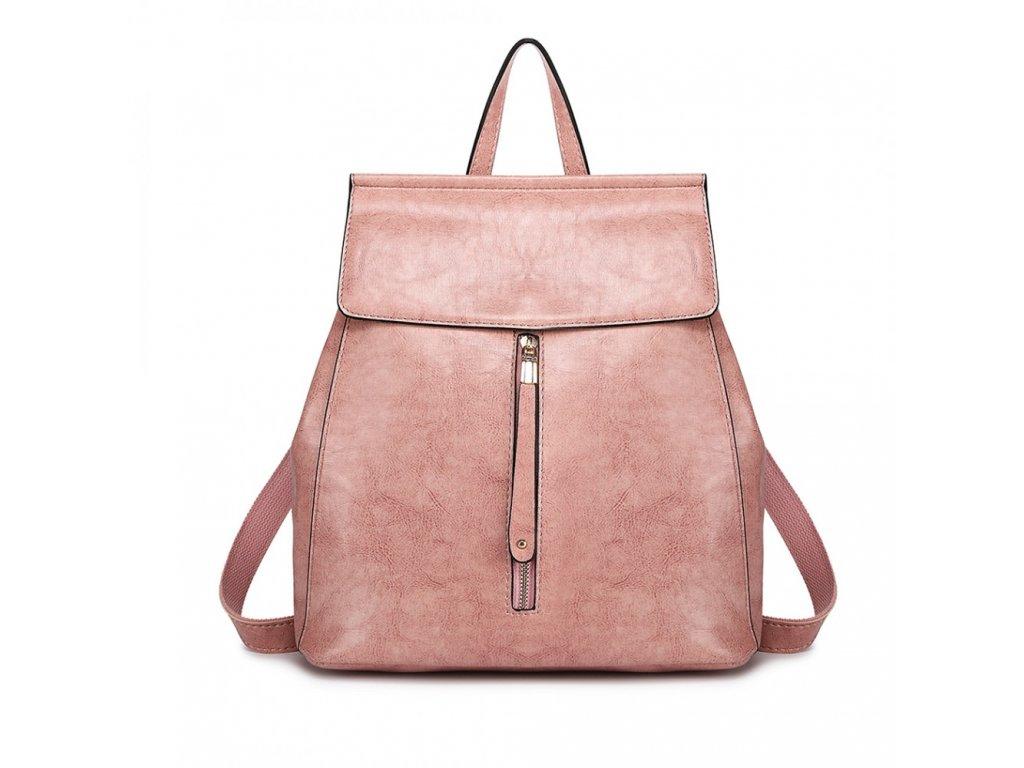 f1a3757ee6 Dámsky elegantný batoh v štýle vintage - staroružový - Batoháreň.sk