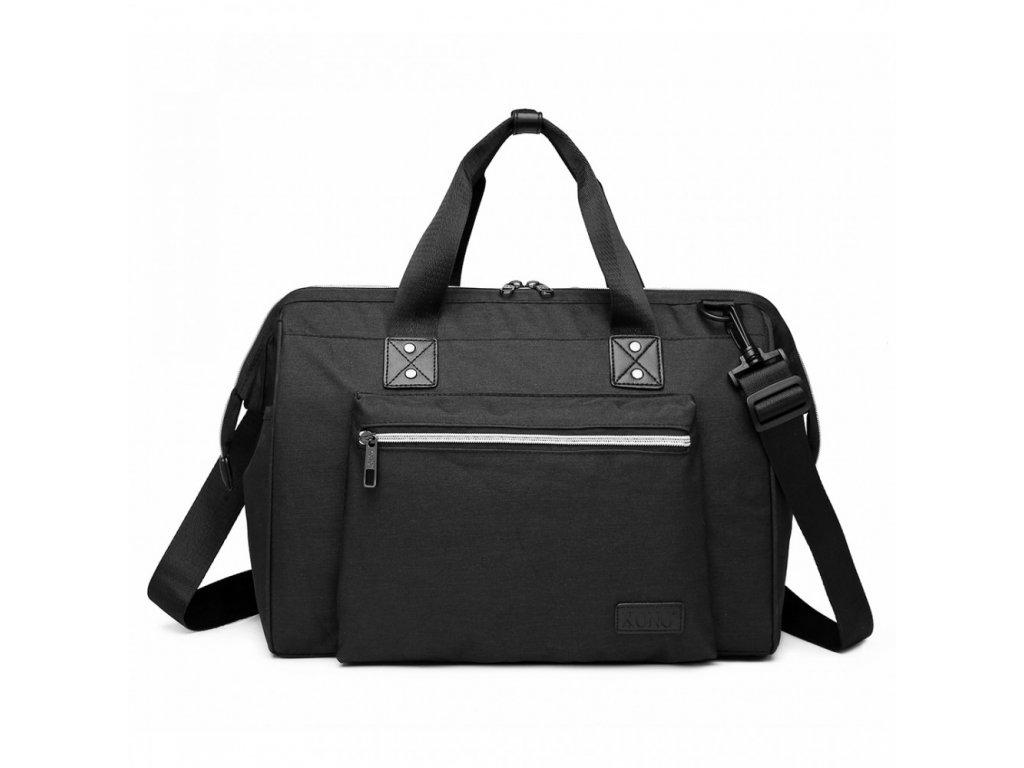 Materská cestovná taška - čierna新E1802 (2) 1000x1000