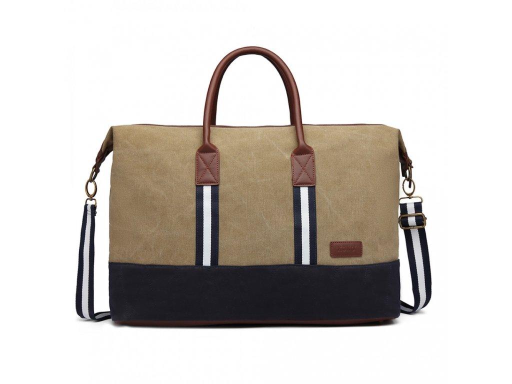 Cestovná taška Canvas - Khaki