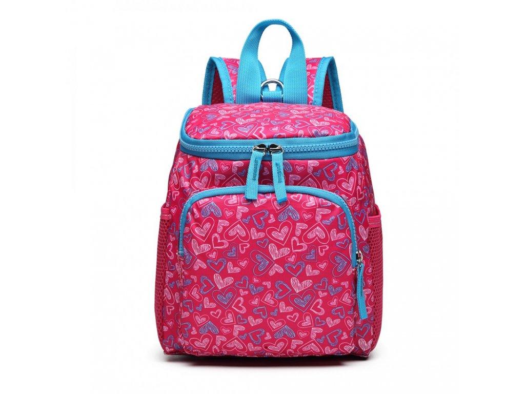 Rozkošný detský batôžtek pre dievčatká - ružový