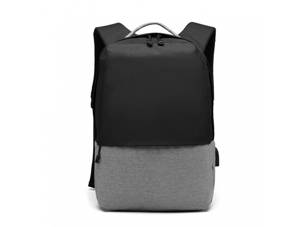 Chytrý batoh s USB portem - Knap - čierny