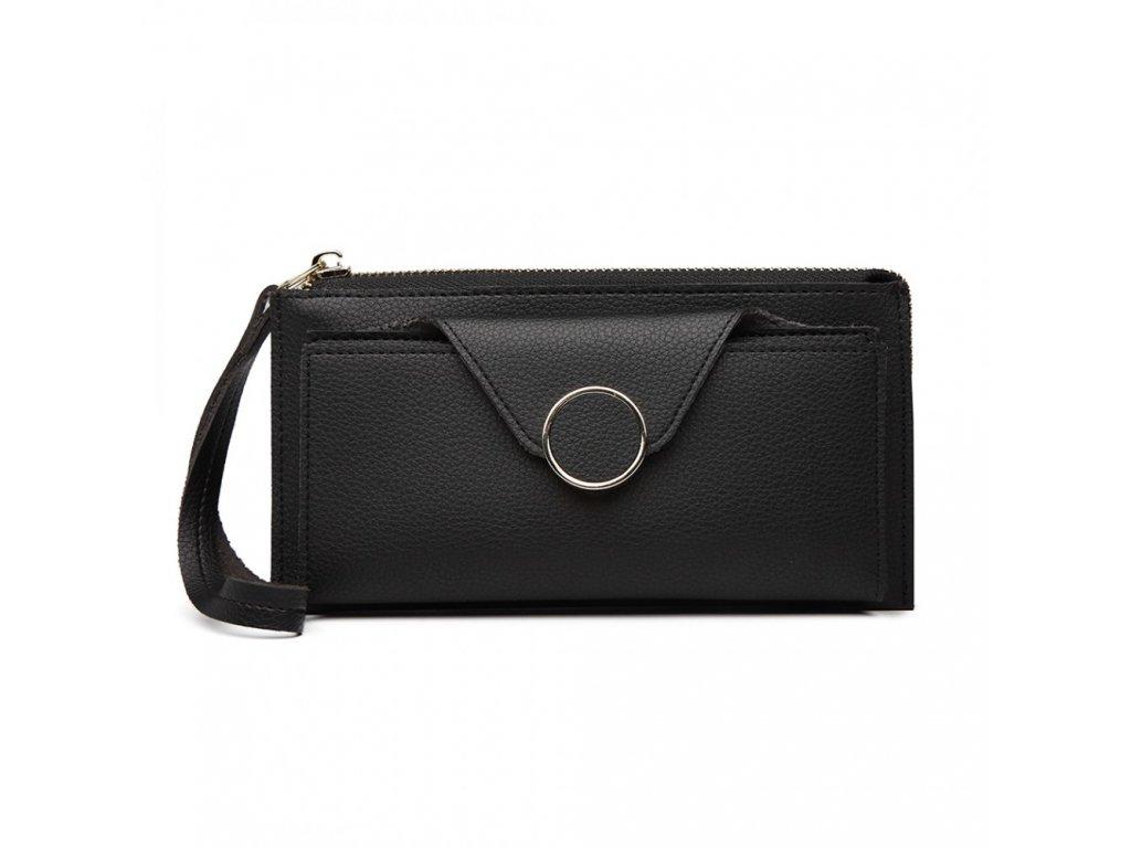 Dámska peňaženka Dolly - čierna