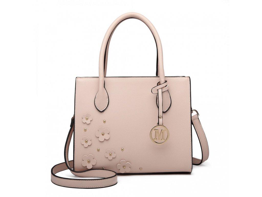 Elegantná kabelka Romantic - nude