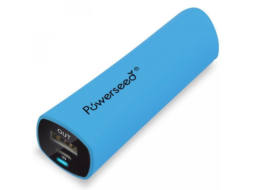 Powerbanka PowerSeed 2400mAh Modrá