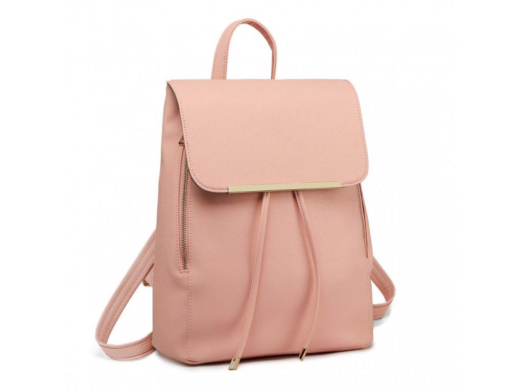 ce17177628c60 Elegantný dámsky ruksak - svetlo ružový - Batoháreň.sk