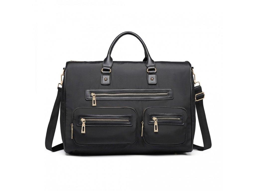 e407866dcb Veľká cestovná taška Multipocket - čierna - Batoháreň.sk
