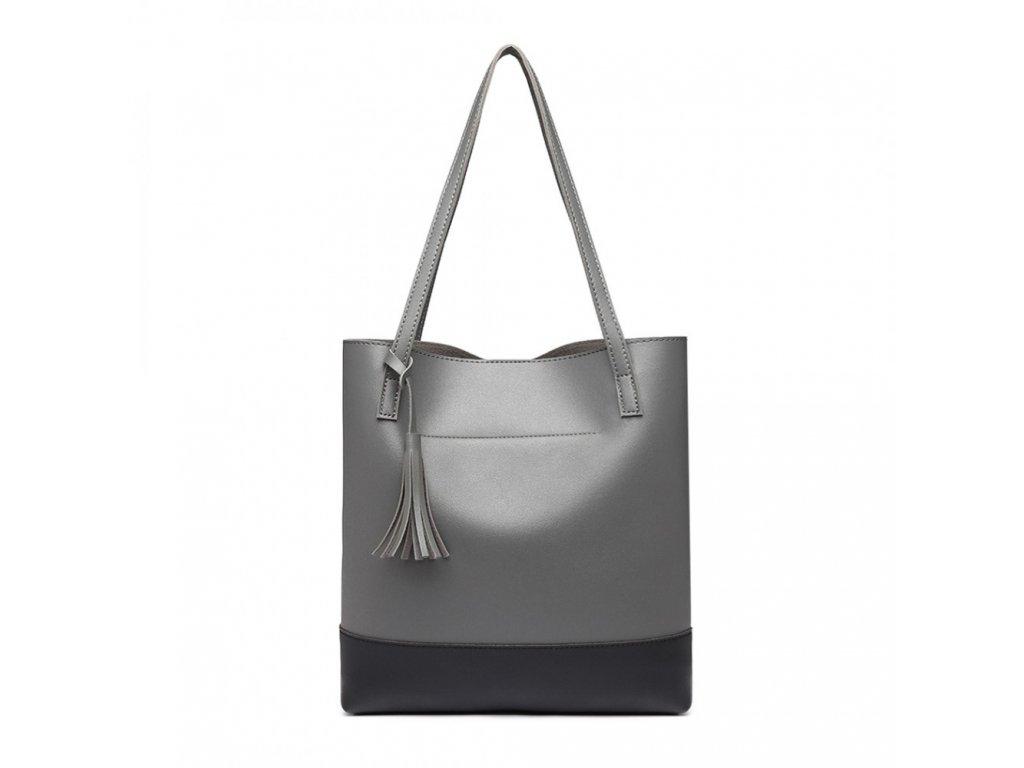 Dámska sivá kabelka Bali