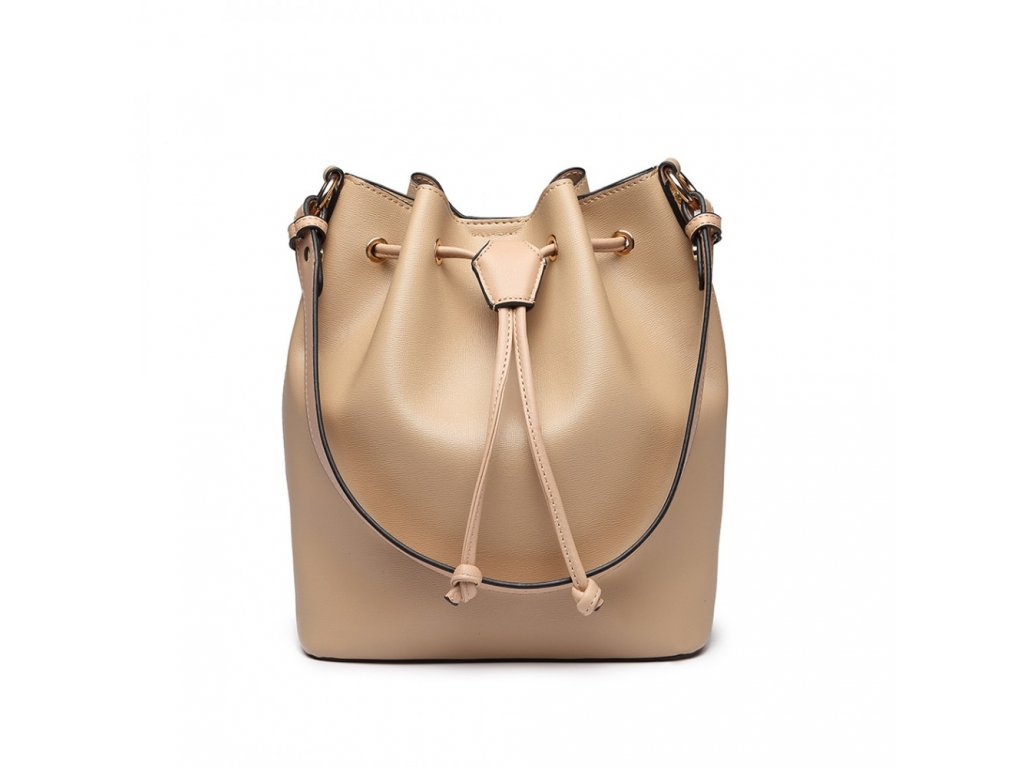 Sofistikovaná béžová kabelka Adel