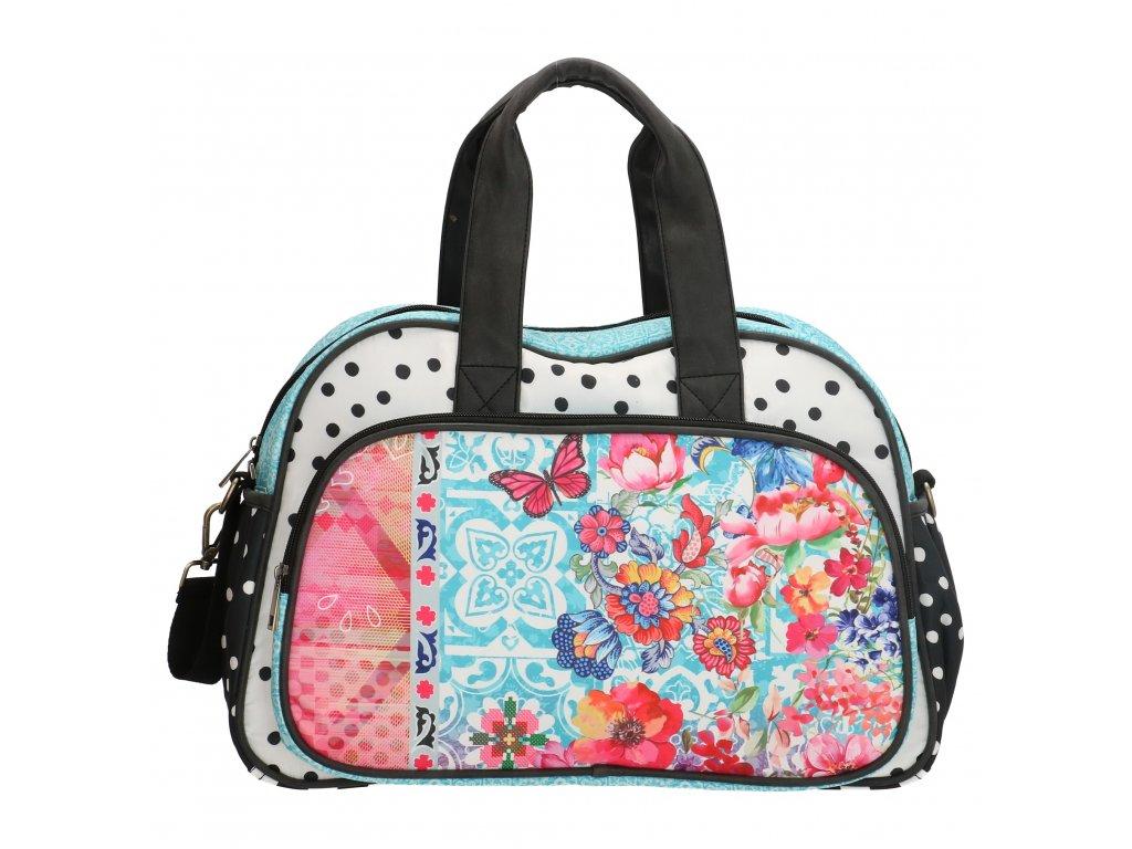 Luxusná prebalovacia taška Melli Mello - Bloem Multi