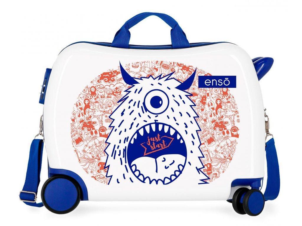Detský kufor na kolieskach - odrážadlo - Enso Fantasy Just Start 2