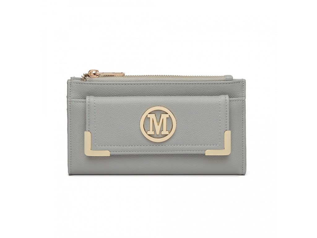 Luxusná dámskaa peňaženka Melinda - sivá