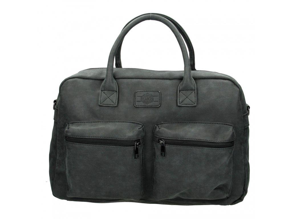 Dámska príručná taška Beagles - čierna