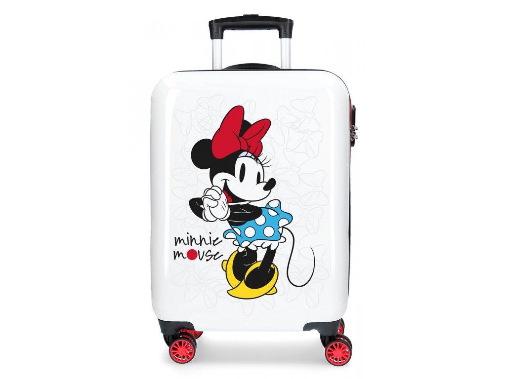 Štýlový kufor na koliesklach Minnie Magic