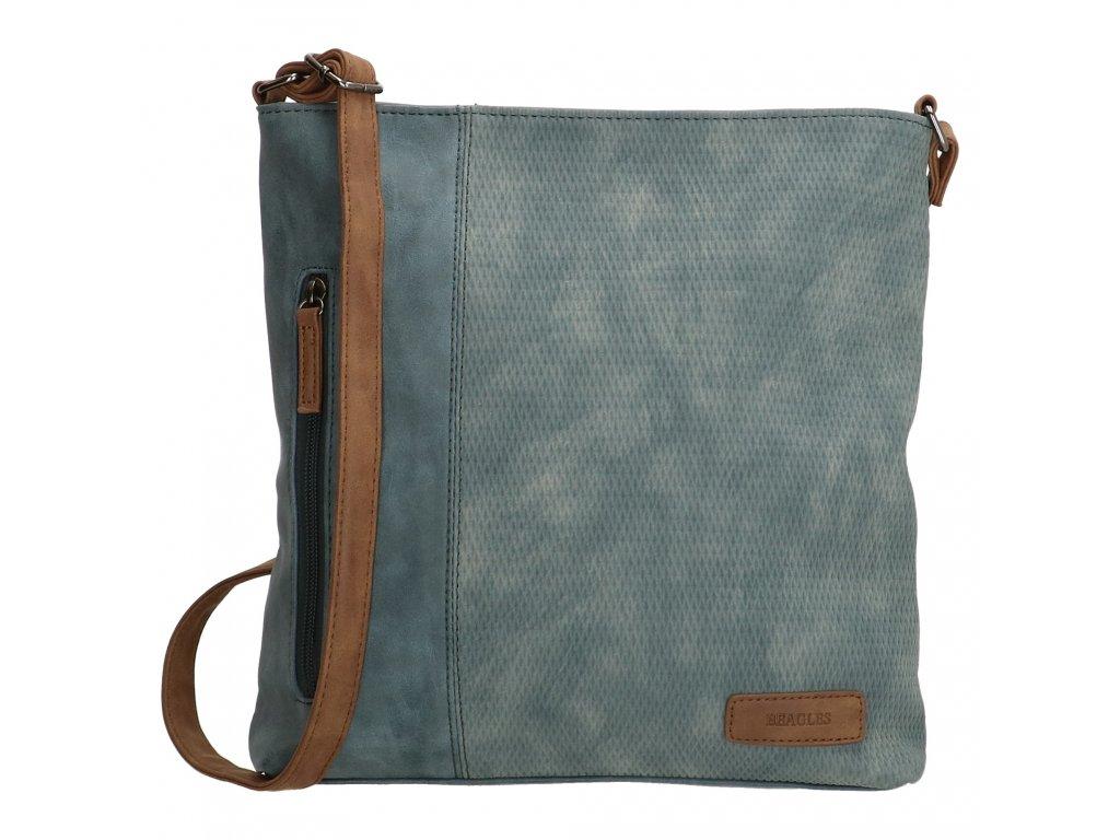 Crossbody taška Beagles Brunete - riflová modrá