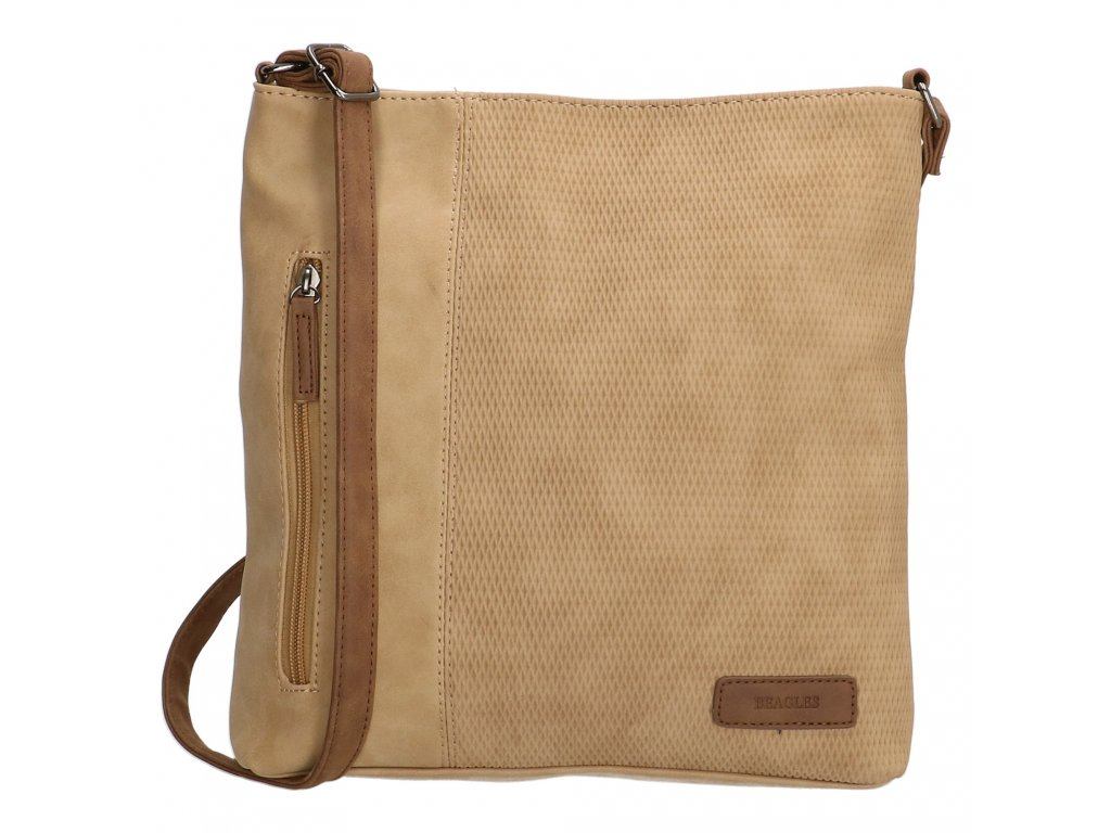 Crossbody taška Beagles Brunete - camel