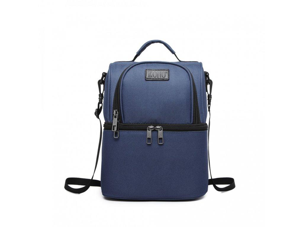 Termo taška/batoh s viacúčelovým využitím Kono - modrý