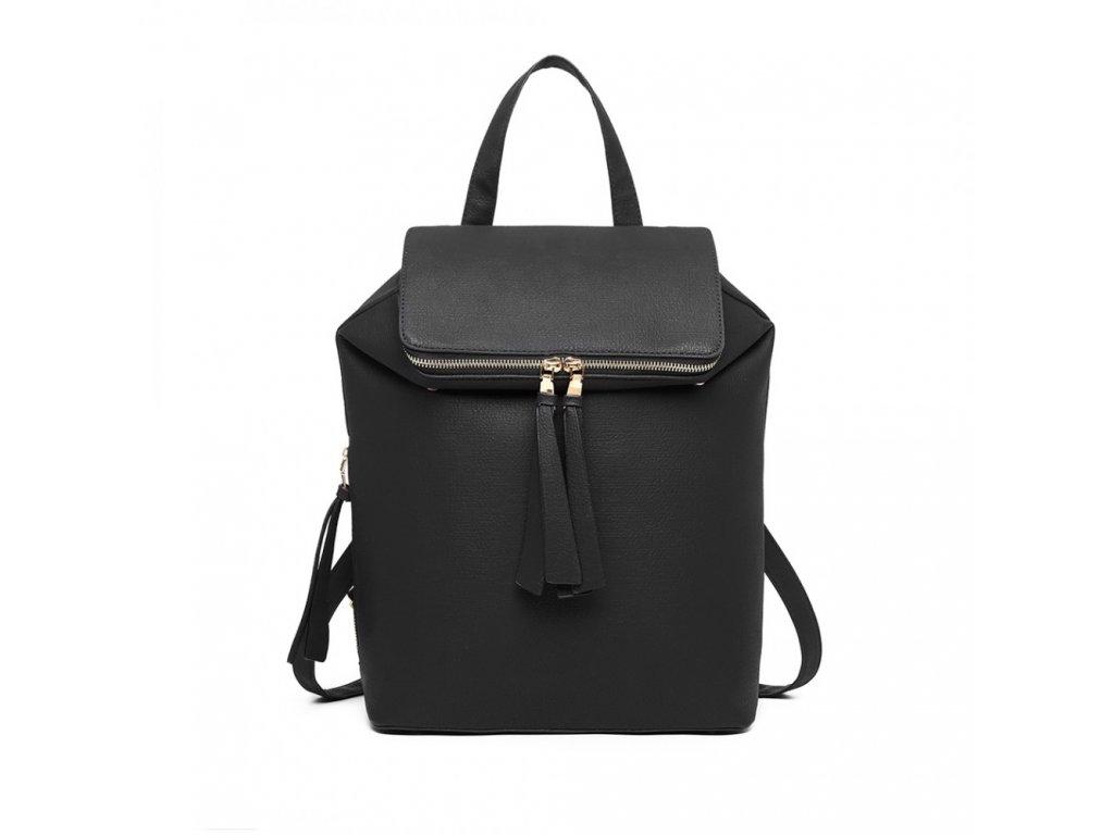 Rozšíriteľný batoh Monica - čierny