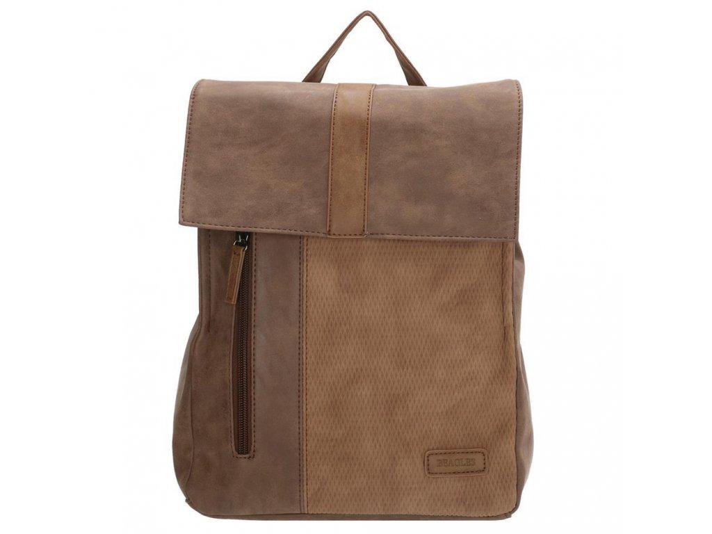 Dámsky batoh Beagles Brunete - hnedý