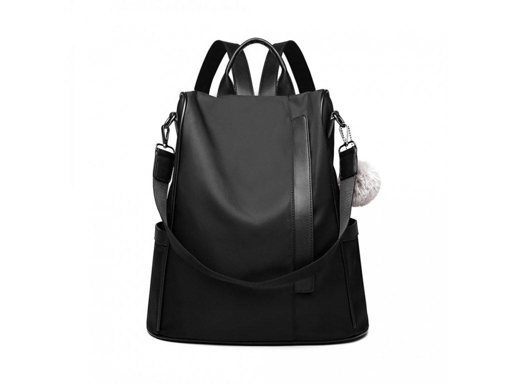 Dámsky elegantný batoh Samba - čierna