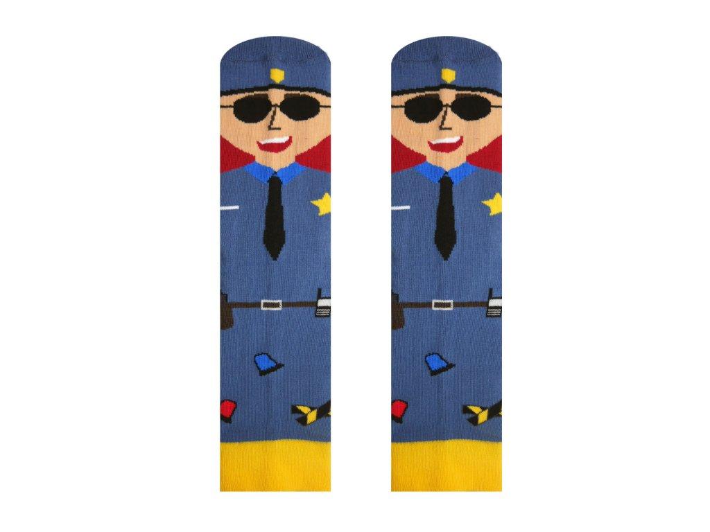 vesele ponozky s policajtoma
