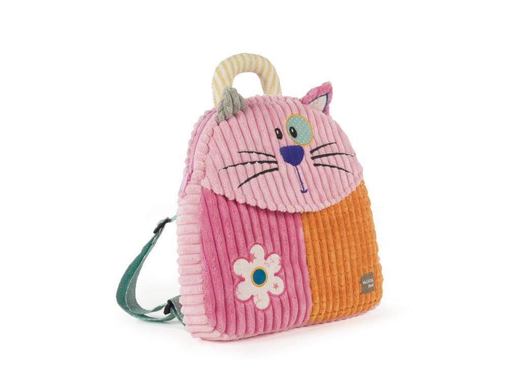 Detský batôžtek Patchwork Mačička Walking Mum